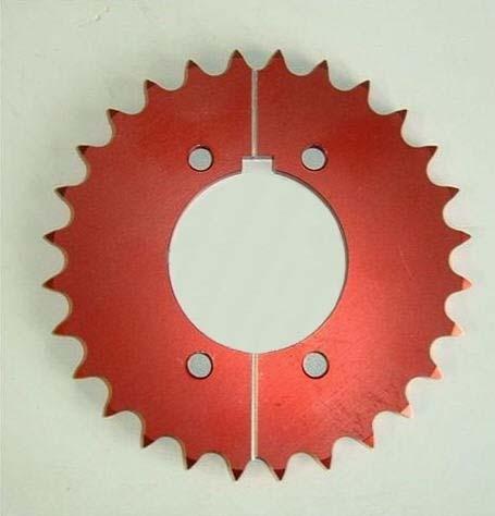 Kettenrad Split-To-Fit aus Aluminium