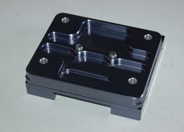 Motorbock geteilt für 32mm Rahmen 0 Grad gebohrt