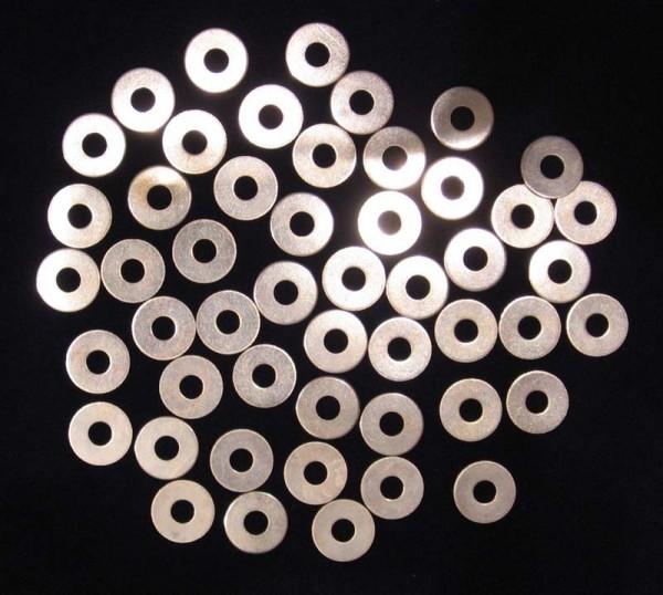 50 Stück Unterlegscheiben M6 DIN9021 (ISO7093) verzinkt