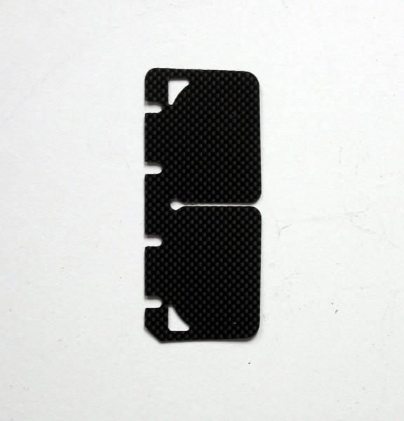 Membrane 71,5x30,5 Vortex Rok GP/RVA Carbon (1Stück)
