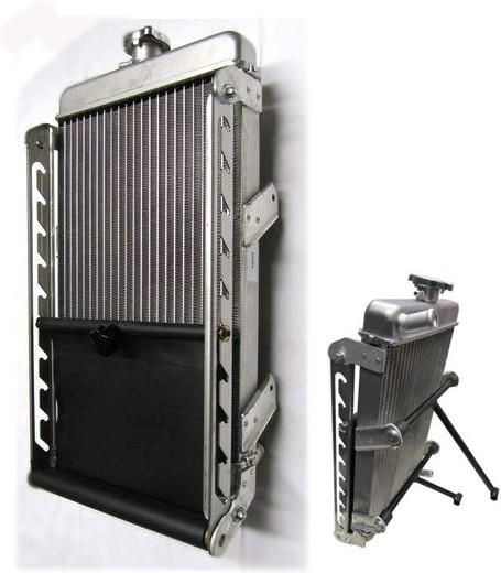 Kühler CRG inklusive Rollo und Haltesatz
