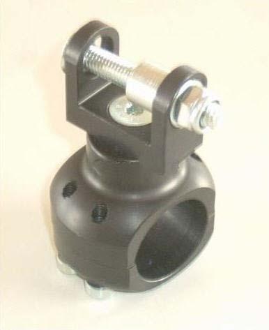 Wasserpumpenhalter Alu eloxiert