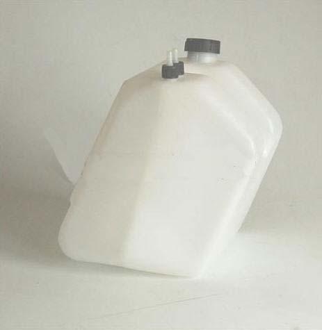 Tank 9 Liter schraubbar für 100ccm mit Anschlüßen