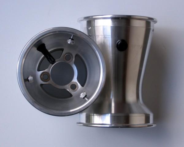 Hinterradfelge 3-Speichen Alu 180mm mit Sicherungsschrauben + Ve