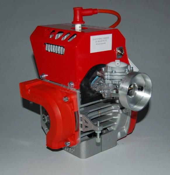 Comer W80 Minikart Motor mit Vergaser