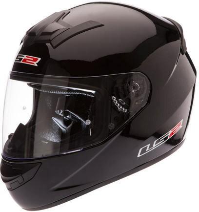 Helm LS2 schwarz