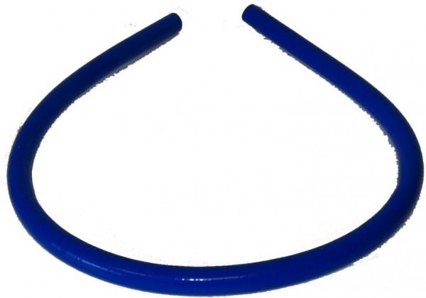 Wasserschlauch Silikon 1,2 m blau