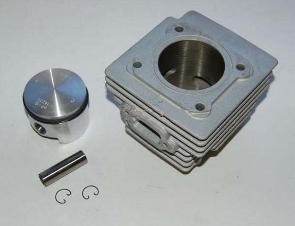 Zylinder mit Kolben, Kolbenbolzen und Sicherungsringen Comer W80