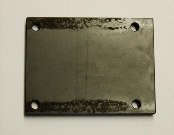 Distanzplatte zur Dämpfung der Motorvibration Stahl