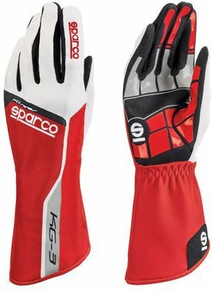 Sparco Handschuhe Track rot KG-3