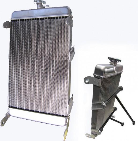 Kühler CRG Aluminium 420mm x 245mm x 35mm inkl. Haltesatz