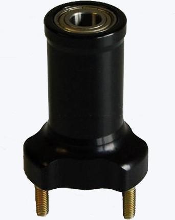 Radstern vorne Ø17/95mm schwarz