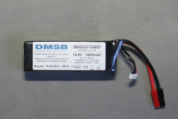 Lipo-Pack DMSB 355g >Speed Kart Products<