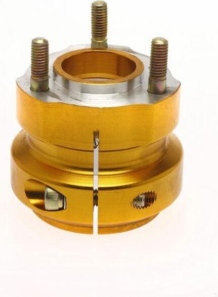 Radstern 40x62mm Aluminium gold