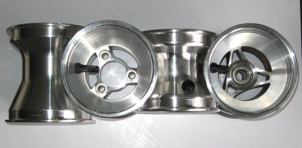 Felgen-Satz Aluminium 17/115/140mm 3-Speichen (4Stück)