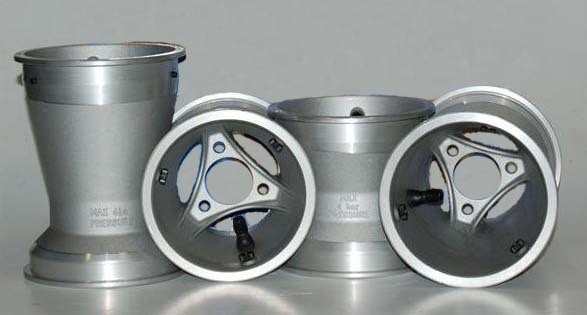 Satz Felgen TOP-Kart Aluminium 130/180