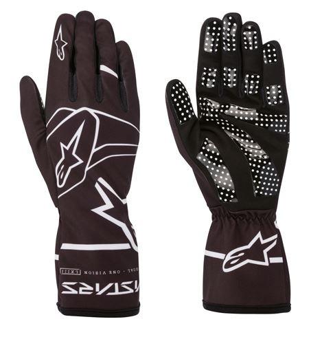 Alpinestars Handschuhe Tech 1-K Race V2 Solid schwarz