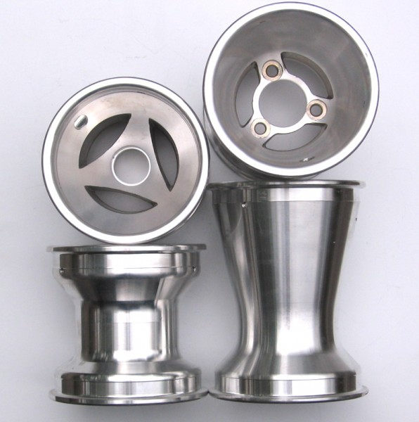 Felgen-Satz Aluminium 17/125/180mm 3-Speichen (4Stück)