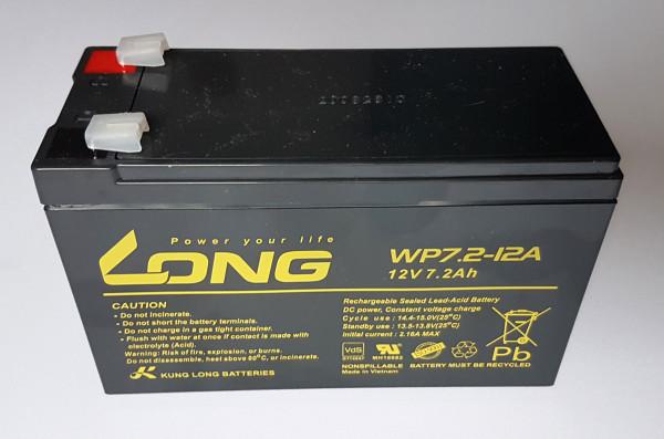 Batterie Long 12V/7,2Ah für KF, IAME Leopard, X30, Gazelle, Rotax MAX, ROK