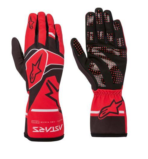 Alpinestars Handschuhe Tech 1-K Race V2 Solid rot/schwarz