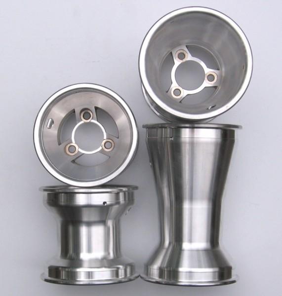 Felgen-Satz Aluminium 130/210mm 3-Speichen (4Stück)