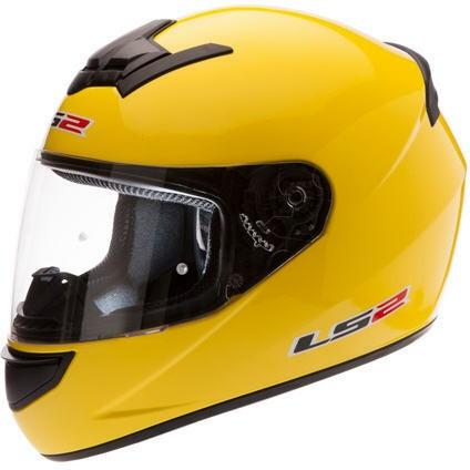 Helm LS2 gelb
