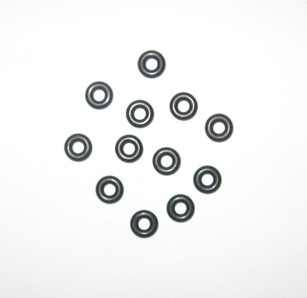 12 O-Ringe für Felgensicherungsschrauben 4,00 x 3,00 mm