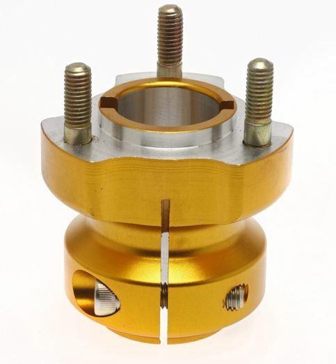Radstern 30x62mm Aluminium gold
