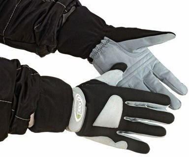 Speed Handschuhe schwarz