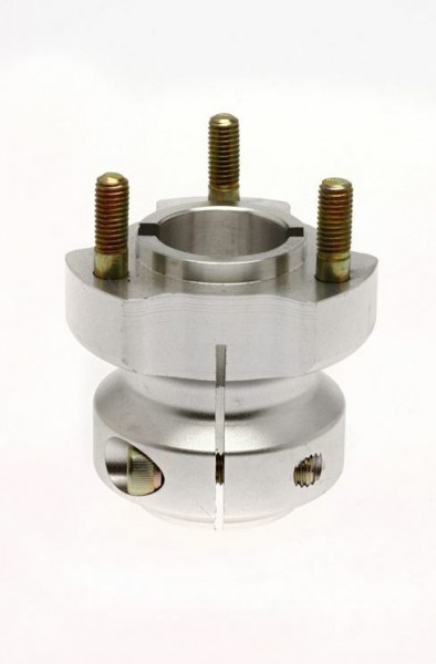 Radstern 40x62mm Aluminium silber
