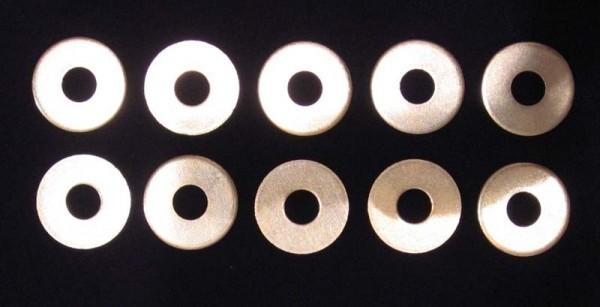 10 Stück Unterlegscheiben M10 DIN9021 (ISO7093) verzinkt
