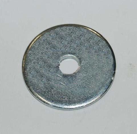 Sitzscheibe 8x60 TOP-Kart Aluminium eloxiert (Höhe: 2mm)