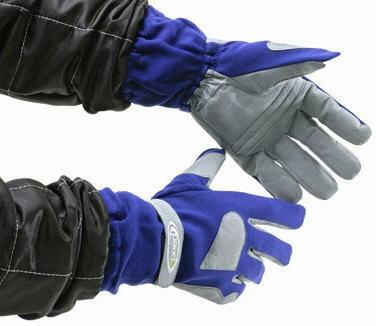 Speed Handschuhe blau