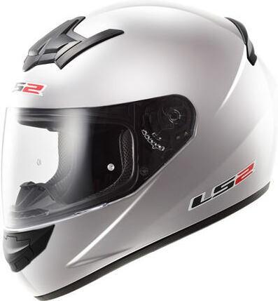 Helm LS2 silber