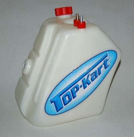 Tank 8,7 Liter mit Rücklauf für TOP-Kart KZ