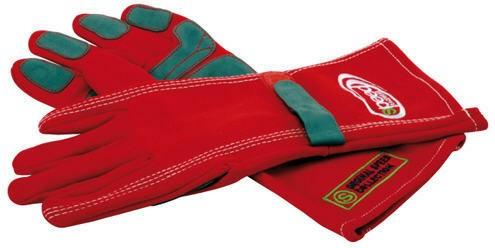 Speed Handschuhe F1-Style rot
