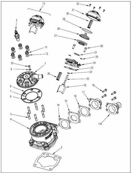 (Pos.1) Zylinderkopf