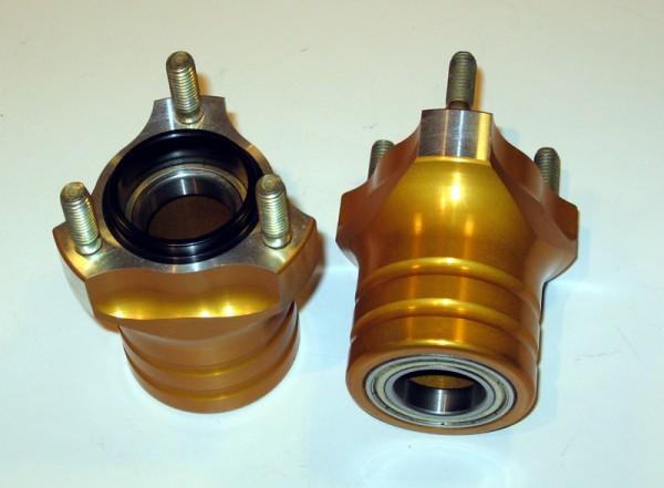 Radstern vorne 25/70-58mm Alu gold