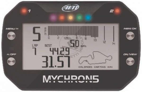 Mychron5 basic inkl. Drehzahlmesser ohne Sensoren