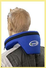 Nackenstütze Speed mit Aufprallschutz blau