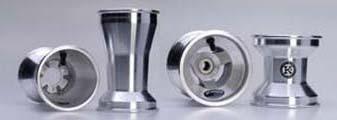 Satz Felgen 120/210 mit 17er Lager Aluminium