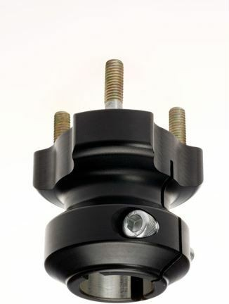 Radstern 30x62mm Aluminium schwarz