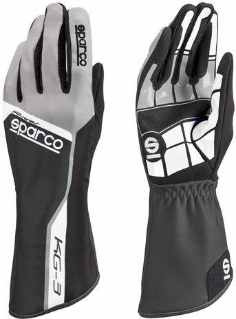 Sparco Handschuhe Track KG-3 schwarz-grau
