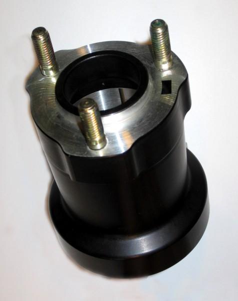 Radstern hinten 50x95 Aluminium schwarz