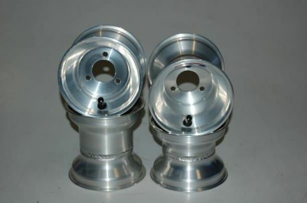 "Satz Felgen Alumilite 110/140 mm 5"" Ø58x8mm Lochkreis"