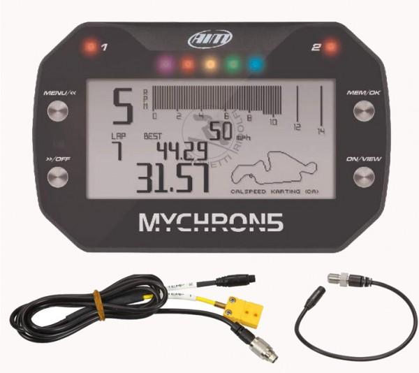Mychron5 2T inkl. Drehzahl + Wassersensor