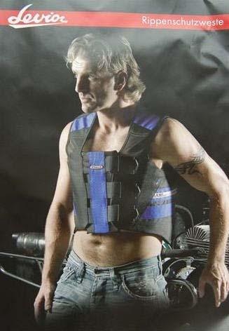Rippenschutzweste LEVIOR/Speed7 mit Brustplatte