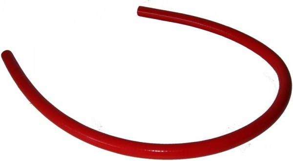 Wasserschlauch Silikon 1,2 m rot