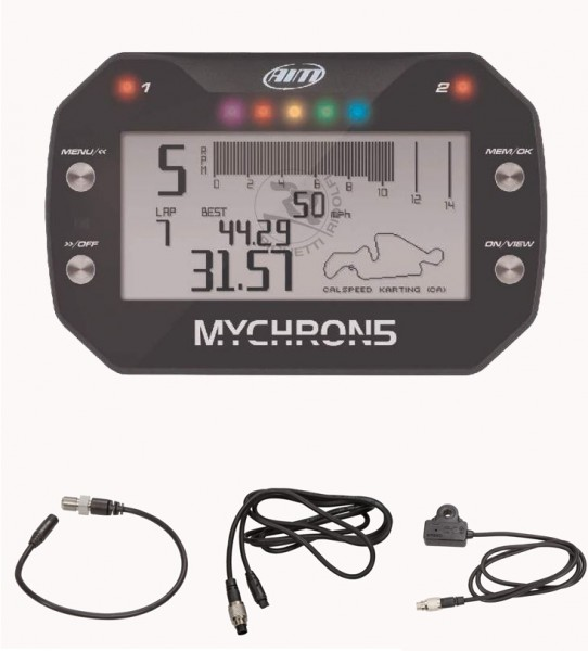 Mychron5 basic inkl. Drehzahlmesser + Wassersensor + Magnetsenso