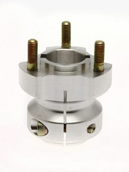 Radstern 30x62mm Aluminium silber